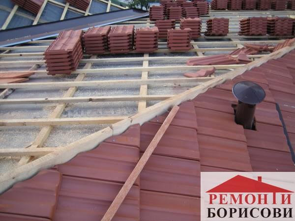 Ремонт на покрив - Ремонти Борисови