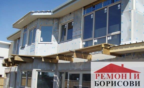 Фасадна топлоизолация - Ремонти Борисови