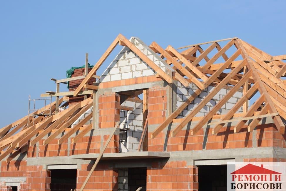 Изграждане на нов покрив - Ремонти Борисови